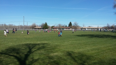 Easter Egg Hunt 2016 Red Crane Records had for the community