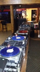 6 Turntable Setup for the 6th Annual Birthday Bash April 2016