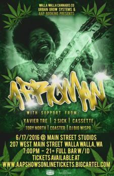 2016 Afroman Show in Walla Walla, WA