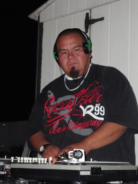 DJ'ing a backyard party for the Dead Poets in Tri Cities, WA
