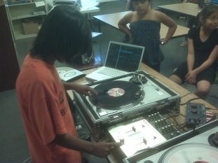Did a Summer Youth Program teaching youth about Hip Hop and The Elements Of Hip Hop Music And Turntables
