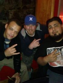 C. Ray, Chris Davis, Blayze One