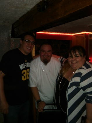 L to R - Rappin Randy Melton, Myself, Jazzy Fizzalino