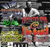 Flip's Mixtape Drop Party at The Beach in Kennewick, I was one of the DJ's in the house that night
