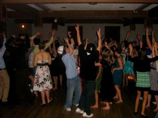 Private Birthday Party Dance Floor