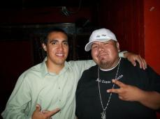 Me and Rappin' Randy from the Umatilla Indian Rez