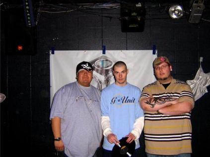 L to R: Big Wispr, DJ Flip, DJ Sho' Me
