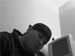 Old Pic - Writing back in 2004