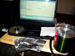 Making Mixtapes at home, I actually burned out this CD Drive, it easily made 1,000 CD's a month