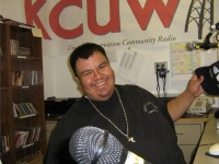 In The KCUW STudio Back in 2006 When It Was Behind The Casino In A Maintenance Warehouse