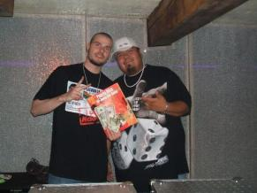 World Famous DJ Flip and Myself, battled in a DJ battle in Pendleton, he won the finals