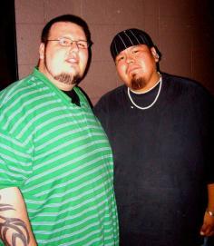 Dang, me and John (DJ Sho Me) probably around 2005 or so