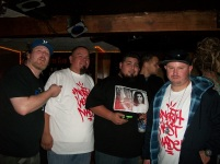 L to R - Chris Davis, Myself, Blayze One, C. Ray, Dirtbag Darrell